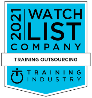 Training Industry Training Outsourcing Company Watchlist Award 2021
