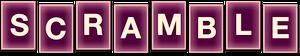 TGA scramble game logo