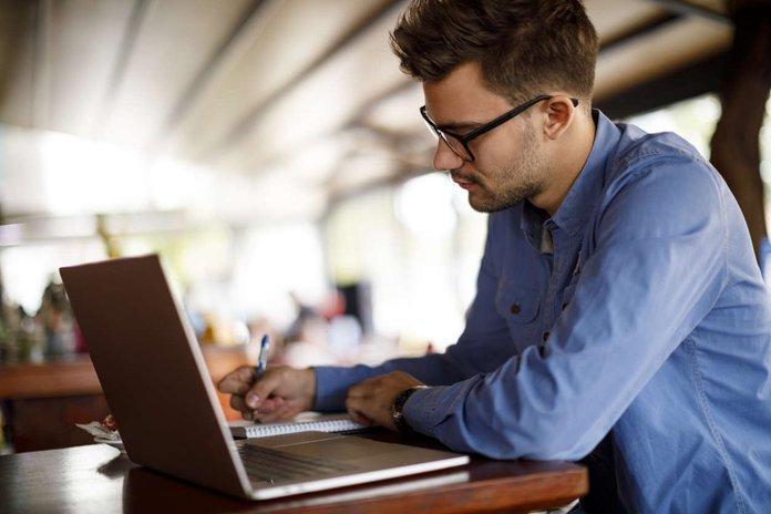 male employee doing a virtual training.jpg