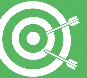 Arrows missing bulls eye